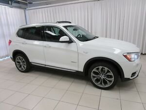 2015 BMW X3 28i x-DRIVE AWD SUV w/ PREMIUM & TECHNOLOGY PACKAG