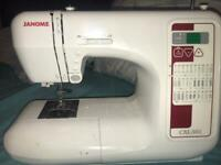 JANOME SEWING MACHINE FOR CHEAP!!