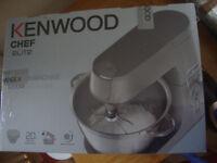 Kenwood Chef Elite New Boxed/Factory Sealed Model No KVC5100S 1200W