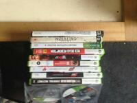 Xbox games and pc games and DVD s