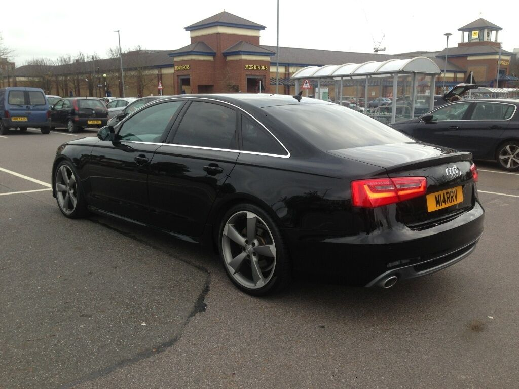 2011 audi a6 3 0 tdi s line black edition in romford london gumtree. Black Bedroom Furniture Sets. Home Design Ideas