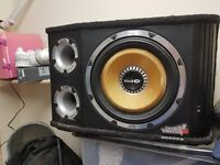 Vibe speakers, subwoofer amplifier, mondeo st parcel shelf etc
