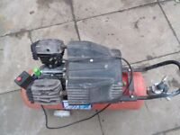 Fiac Miami 240v Volt Compressor, V-twin 3kw, 50 Litre Capacity