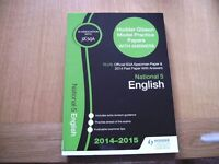 National 5 English Revision Books As New
