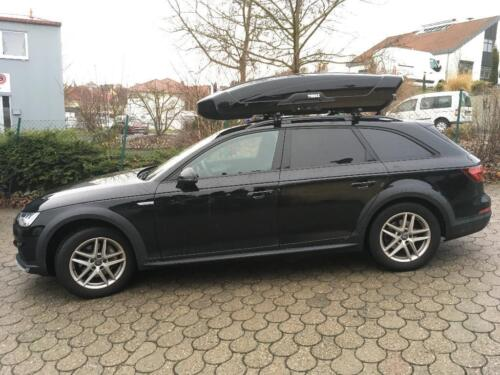 audi a4 avant b8 b9 allroad quattro thule motion xt mieten. Black Bedroom Furniture Sets. Home Design Ideas