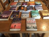 16 Lee Child paperback books in good condition sold as job lot or separately