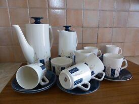 Coffee/Tea Set, Vintage Beswick Apollo