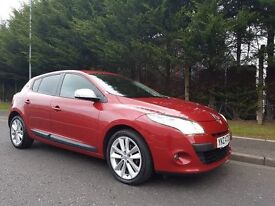 DECEMBER 2009 RENAULT MEGANE I-MUSIC 1.6VVT 100BHP LOVELY LOW MILEAGE EXAMPLE EXCELLENT SPECIFCATION