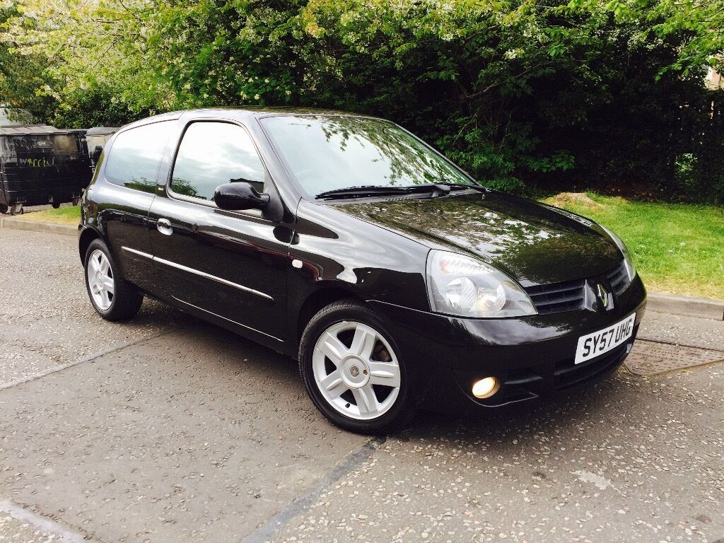 renault clio 1 5 dci 65 campus sport 57 plate genuine low miles 1 owner full service history. Black Bedroom Furniture Sets. Home Design Ideas