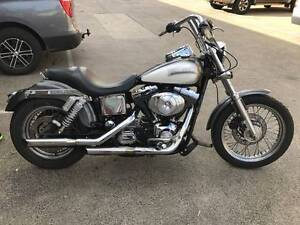 HARLEY DAVIDSON DYNA FXDL 02/2001 MODEL 59308KMS PROJECT OFFERS Campbellfield Hume Area Preview