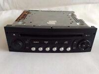 Peugeot 207 307 807 Expert Citroen C2 C3 Berlingo Radio CD Player VDO RD4