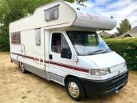 FIAT DUCATO 2.5 TD 14 LWB SWIFT ROYAL / VERY LOW MILES 52k / MINT CONDITION