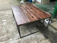 REDUCED!! Beautiful Indian Coffee Table - large