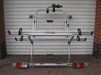 Fiamma Carry Bike 2 Cycle Bicycle Rack Carrier for Mercedes Viano and Vito Single Rear Door