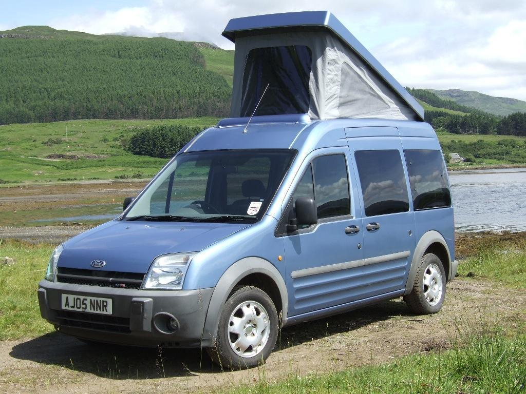 ford tourneo connect compact campervan in isle of mull argyll and bute gumtree. Black Bedroom Furniture Sets. Home Design Ideas