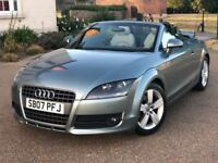Audi TT Roadster 2.0 T Convertible Manual *FSH, HPI Clear, Warranty Petrol 2007