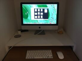 """21.5"""" imac in excellent condition"""