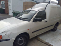 VW caddy van high roof used daily diesel