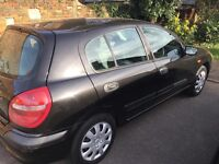 nissan almera 1 owner from new