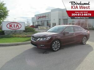 2013 Honda Accord SPORT *BACKUP CAM/ HEATED SEATS/ ECO MODE*