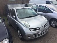 SPARES REPAIR AUTOMATIC NISSAN MICRA MOT LOW MILEAGE NICE ENGINE FAULTY GEARBOX HENCE THE PRICE