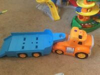 Dickies toys lorry with trailer