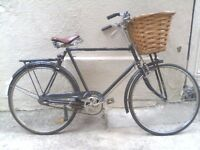 Beautiful Man's Bike / Bicycle - has rust and flat tyres, so needs some work