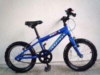 "(2194) 16"" Lightweight Aluminium RIDGEBACK Boys Girls Child Bike Bicycle Age: 5-7 Height: 110-125cm"