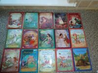 Childrens books, 15 classic fairy tales. 7x5 inches size. Beautiful illustration