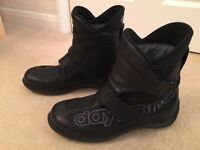 Daytona Journey XCR Gore-tex Motorcycle Boots Leather size 42