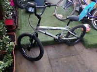 "BMX bike Terrain Anaconda tesco with 18"" wheels for a 6-10yo ; everything is work ok"