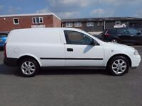 NO VAT!! Vauxhall Astra van part ex to clear clearence vehical cheap van!!