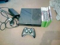 Xbox 360 E 4GB with 20GB hard drive, controller and games £50 ono