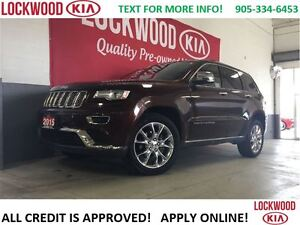 2015 Jeep Grand Cherokee Summit - EXTENDED WARRANTY INCLUDED!!! Oakville / Halton Region Toronto (GTA) image 1