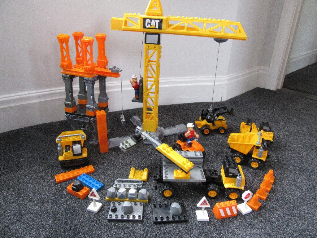 Massive Toy Sale From 5 Cat Crane Mega Bloks Elc Garage