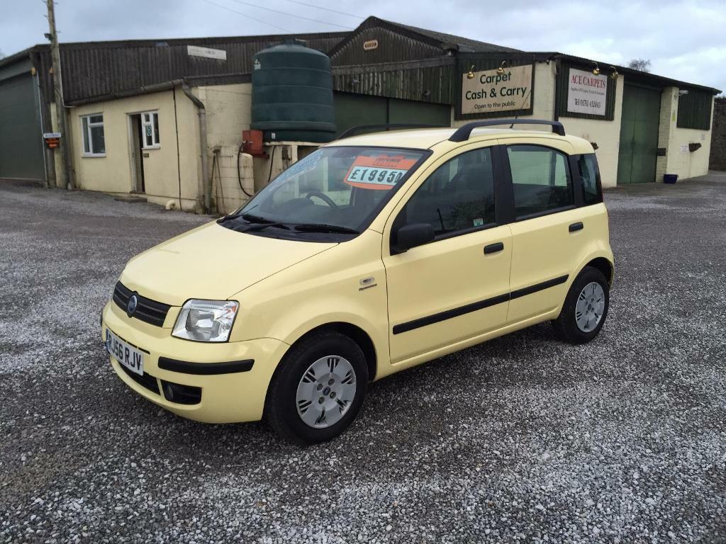 fiat panda 1 2 dynamic yellow 2006 in somerset gumtree. Black Bedroom Furniture Sets. Home Design Ideas