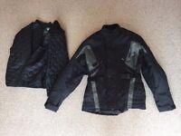 Rev-It Waterproof Armoured Motorbike Jacket and Trousers