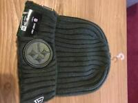 NFL - American Football - Pittsburgh Steelers Beanie Hat - salute to service (limited edition)