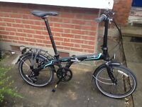 """Folding Bike - Dahon Vybe D7 20"""" Wheel (7 Speed), plus extras - 7 months old and in top condition"""