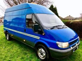 "Ford Transit 2.4 T350 LWB / HI-ROOF / RWD ""Great Work Horse, Great Runner, Solid Van"""