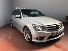2010 59 MERCEDES BENZ C350 AMG LINE ESTATE