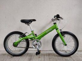 "SERVICED (4568) 16"" KOKUA LIKEtoBIKE Aluminium KIDS BIKE BOYS GIRLS BICYCLE Age: 5-7, 105-120 cm"