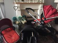 Icandy peach full package with car seat and more