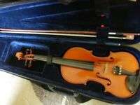 3/4 size good quality violin (probably Czech) -suit age 9+/adult preferring a smaller instrument
