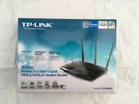 TP-Link TD-W9980 (N600 Wireless Dual Band Gigabit VDSL2/ADSL2+ Modem Router)