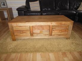 6 Drawer Storage Coffee Table
