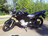 Yamaha ybr 125cc race pipe