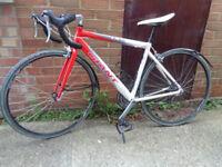 road bike racing bike giant name 3x 7 speed 21 speed bike £130.00.O.N.O.