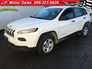 2015 Jeep Cherokee Sport, Automatic, Back Up Camera, 4x4