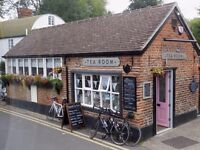 Cleaner required for Riverside Tea Room in Eynsford